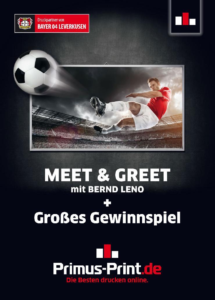 Primus-Print.de organisiert  Meet & Greet in der BayArena Leverkusen