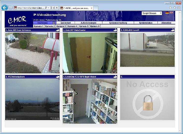 C-MOR Videoüberwachung mit mehr Leistung durch 64 Bit Betriebssystem
