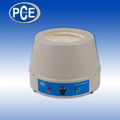 Schnell und sicher Rundkolben mit Flüssigkeit erhitzen -- Heizhaube PCE-HM 1000