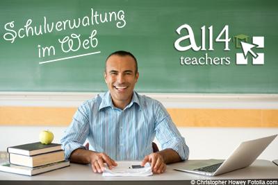 Online Schulverwaltungssoftware All4Teachers erleichtert den Alltag an Schulen