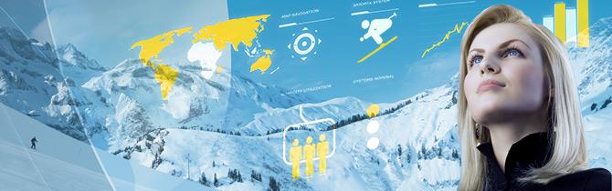 SKIDATA auf der Interalpin 2013 in Innsbruck