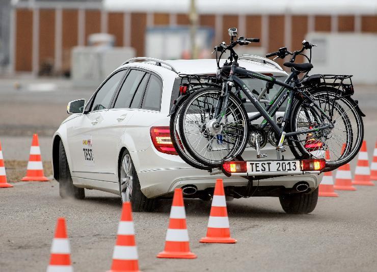 GTÜ testet E-Bike-Träger