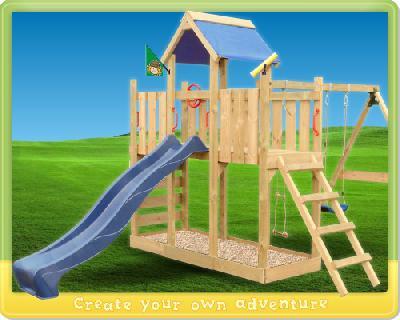 Der Spielturm TwinFlyer für Spannung und Abwechslung in allen Ecken