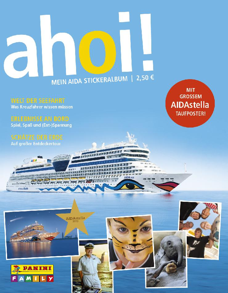 Kreuzfahrtreederei AIDA bringt Panini-Hefte an Bord