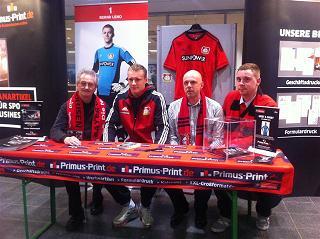 Primus-Print.de zeigt sich erfolgreich bei Bayer 04 Leverkusen
