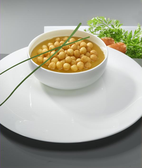 LAND-LEBEN feiert Jubiläum der Backerbse: Gewinnspiele, Rezepte und viele leckere Suppeneinlagen