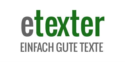 etexter - Texte für Firmen und Verbände