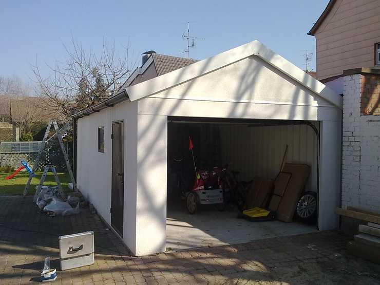 Informationsfluß beim Garagenbau mit Garagenrampe.de mit München als Beispiel