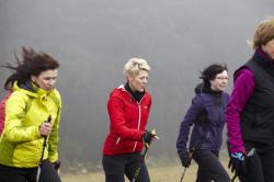 Nordisch-aktiv: Auf dem Weg zur Nordic-Walking-Region