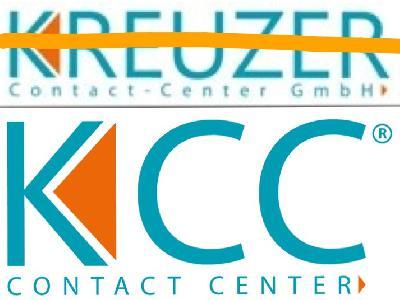 Aus KREUZER Contact-Center GmbH wird KCC GmbH