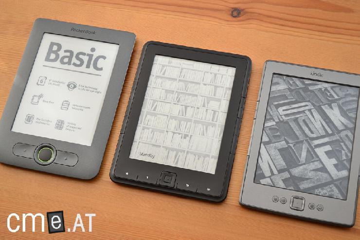 eBook Reader-so finden Sie den Richtigen für Ihre Ansprüche