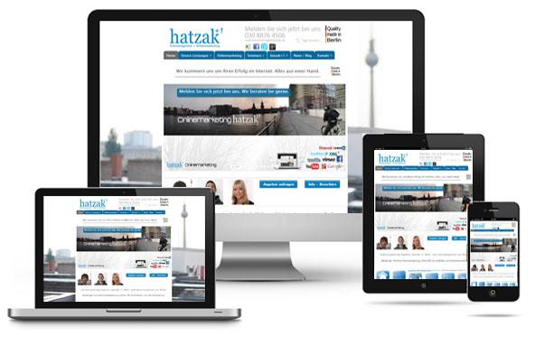 Responsive Webdesign auf dem höchsten Niveau. Ihre Homepage optimiert für Smartphones und Tablets made in Berlin
