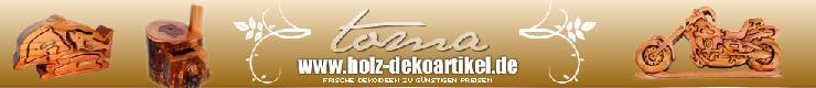 Holz-Dekoartikel.de - Geschenke aus Holz und Dekorationen passend zu jeder Jahreszeit