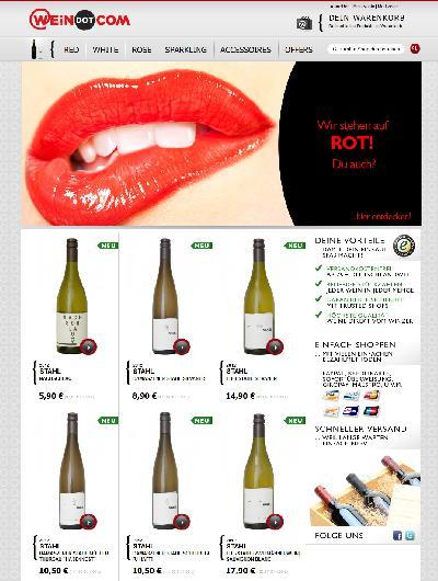 WEiNDOTCOM Weinversand erweitert Sortiment mit Spitzenweinen vom Winzerhof Stahl