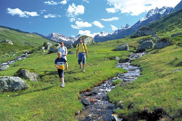 Sommerurlaub in Ischgl/Tirol: