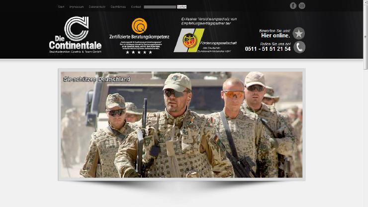 Berufsbranche Soldat - Versicherungen und ihre Notwendigkeit