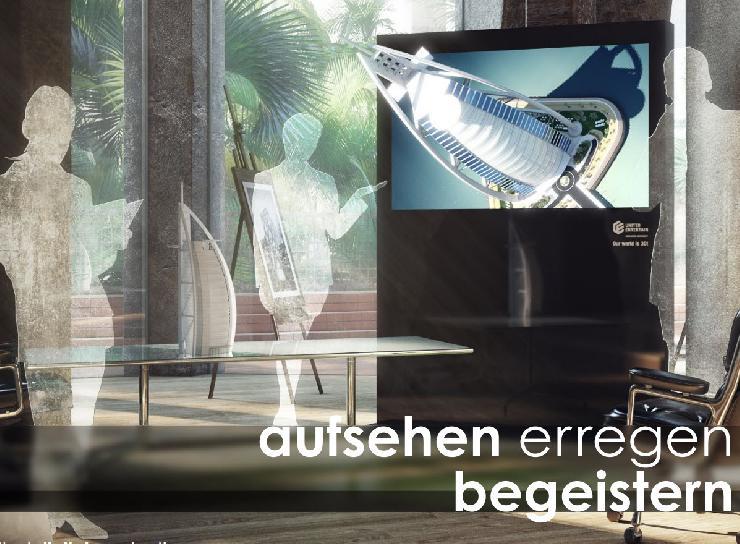 Weltneuheit: UNITED ENTERTAIN präsentiert 50-Zoll-Display mit 4K-Auflösung in brillenfreiem 3D