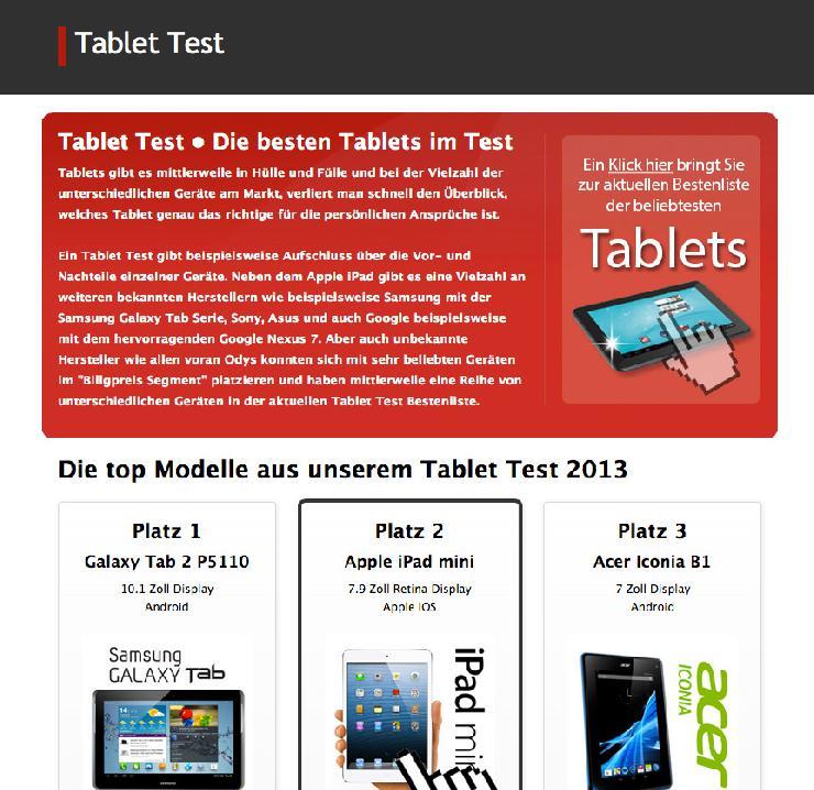 Wichtige Kriterien zur Anschaffung eines passenden Tablet-PC