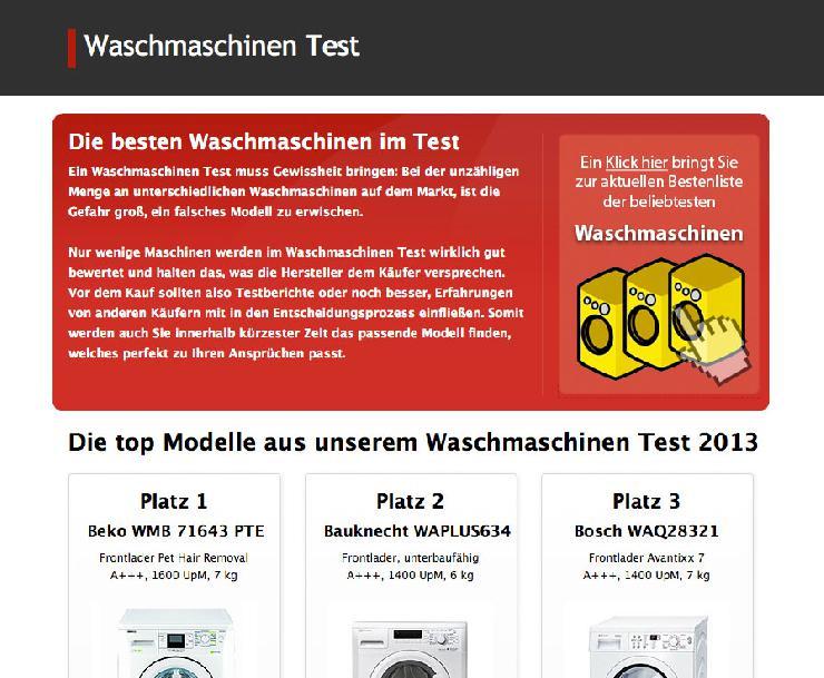 Die wichtigsten Kriterien bei der Auswahl der optimalen Waschmaschine.
