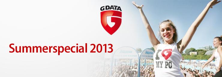 G Data startet Summerspecial 2013