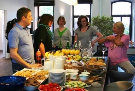 Im Zeichen der Gesundheit  interner Gesundheitstag bei Lingner Marketing