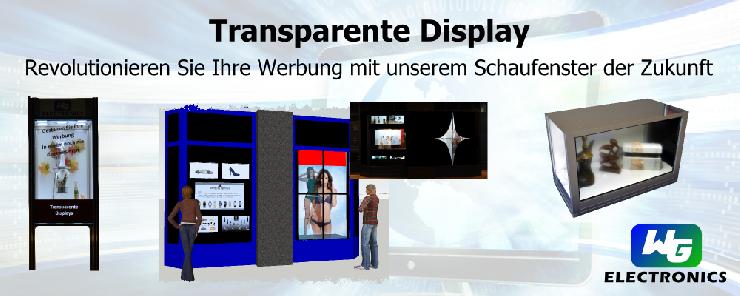 Werbung revolutionieren mit dem Schaufenster der Zukunft vom Experten für innovative Display-Technologien