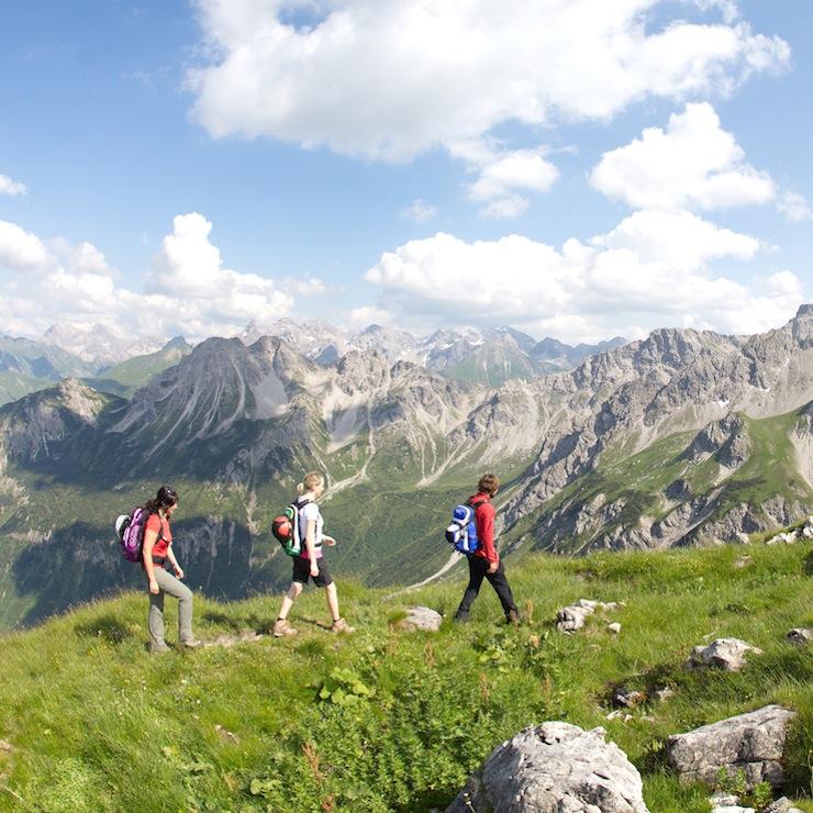 Wanderparadies Kleinwalsertal