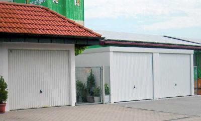 Ersatz alter Garagen und Neubau mit Garagenrampe.de