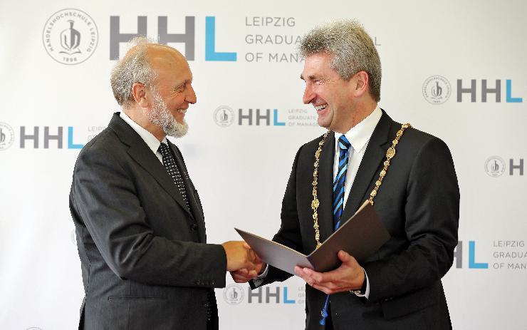 HHL verleiht Ehrendoktorwürde an Hans-Werner Sinn