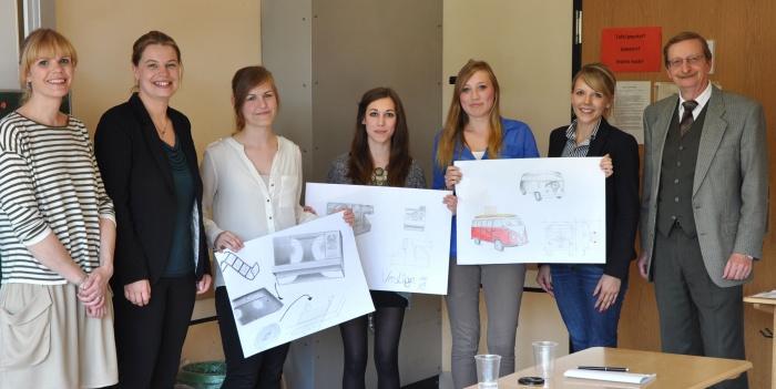 Oberstufenschüler des Gymnasiums Jüchen entwerfen Produktdesign für 3M
