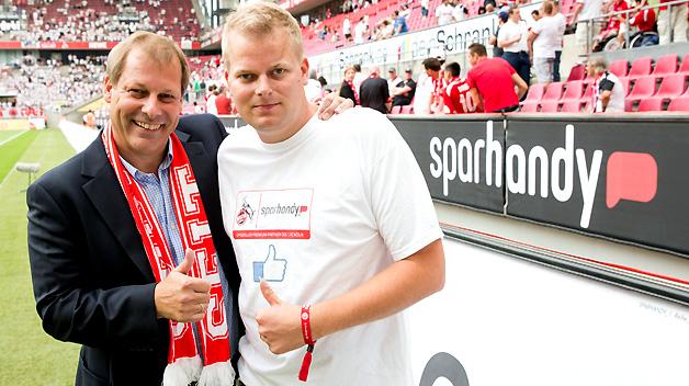 Sparhandy.de ist ab sofort Premium-Sponsor des 1. FC Köln