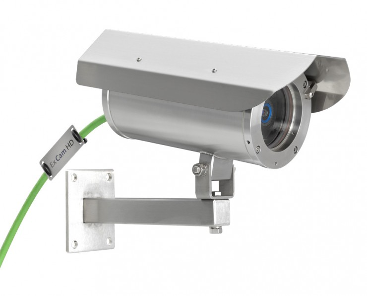 Video-Kamera mit Ex-Schutz in HD-Auflösung