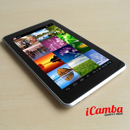 iCamba stellt erstes Quad Core Tablet der Welt für unter 100.- EUR vor