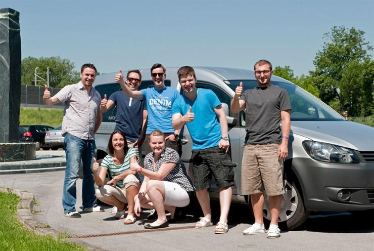 Commend sponsert Autos für Fahrgemeinschaften - im Tank: Erdgas