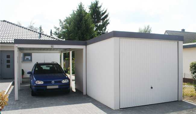 pressenachricht garage und carport aus einem guss von. Black Bedroom Furniture Sets. Home Design Ideas