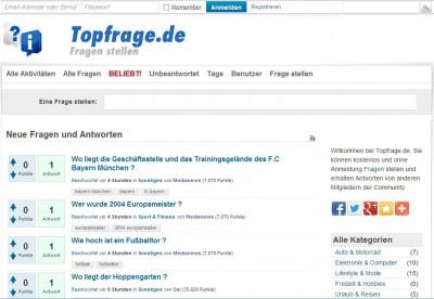 Topfrage.de - die Ratgeber Community