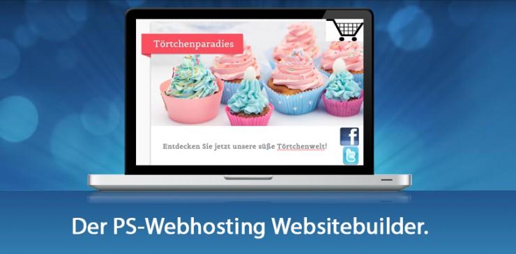 PS-Webhosting bringt Homepagebaukasten der neuen Generation
