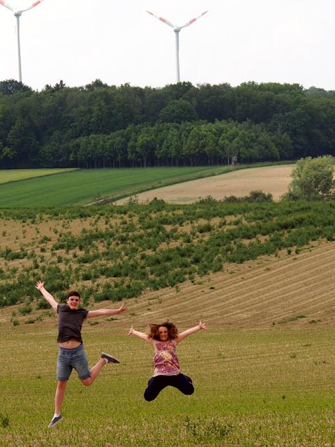 Deutsche Kids sind weniger glücklich