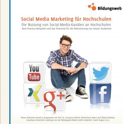 Bildungswebs neuer Social Media Marketing Guide für Hochschulen