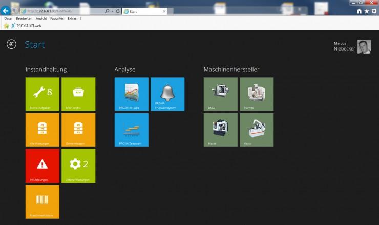 PROXIA TPM.web - Instandhaltungsplanung leicht gemacht!