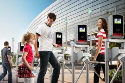 Sicherer und schneller Zutritt für zehntausende Fans in Europas Top-Stadien