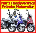 Handykalkulator.de bietet Handyvertrag mit Motorroller