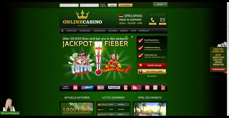 Deutsches Online-Casino holt User zurück in die Legalität