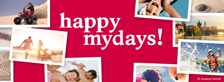 Happy mydays: 10 Jahre magische Momente schenken