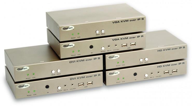 IBC 2013: Gefen präsentiert aktuelle Lösungen für Broadcast,  Post Production, Rental & Staging und Pro A/V