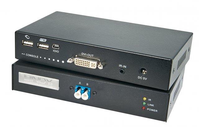 Hochauflösende DVI- und USB-Signale ohne Qualitätsverluste 5000 Meter weit übertragen