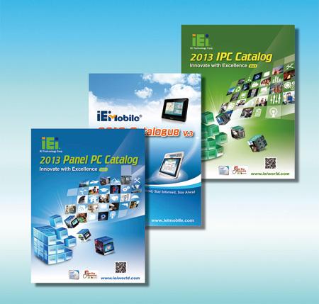Panel-PC  Mobile IPC  Industrie PC Lösung, drei Kataloge für den industriellen Anwender !
