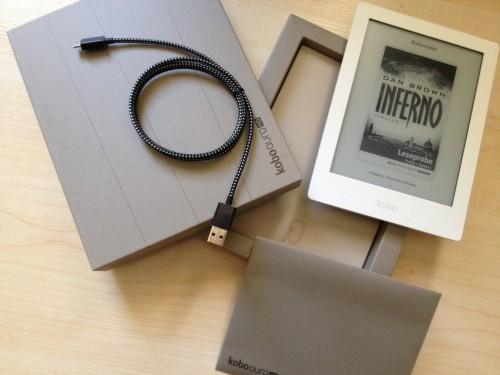 Kobo Aura HD: Jetzt auf eBook-Fieber.de gewinnen!