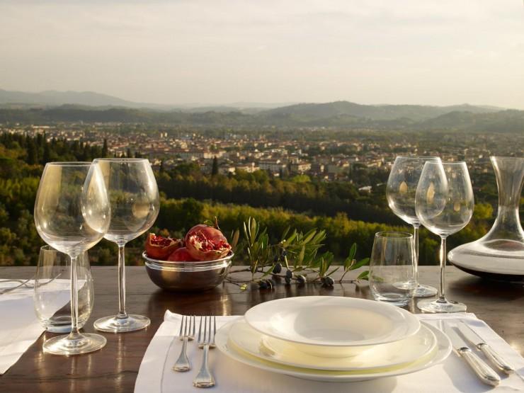 il Salviatino, Florenz  präsentiert frische Küche:
