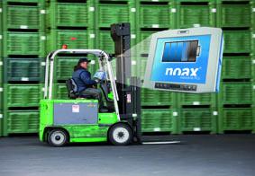 Weltneuheit: Kleiner Unterschied  große Wirkung!  Die neue, integrierte USV von noax erhöht die Ausfallsicherheit bei mobilen Logistikanwendungen und schützt so vor Datenverlust und Betriebsunterbrechungen.